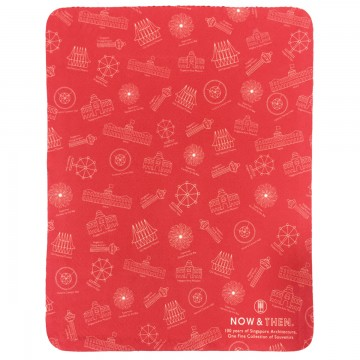 MOUSEPAD 3-IN-1 MICROFIBRE MOTIF RED