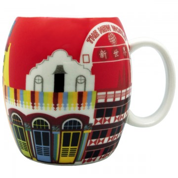 MUG iHERITAGE LITTLE INDIA RED