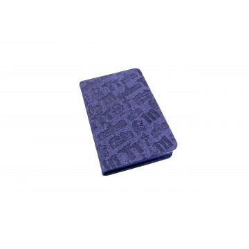 NOTEBOOK MOTIF BLUE