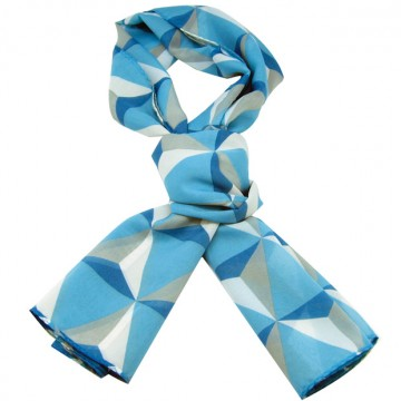 SCARF ESPLANADE BLUE