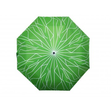 AUTO-OPEN FOLDABLE UMBRELLA SUPERTREE GREEN