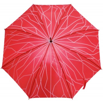 STICK UMBRELLA SUPERTREE RED