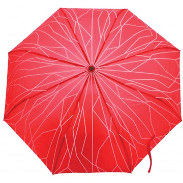 AUTO-OPEN FOLDABLE UMBRELLA SUPERTREE RED